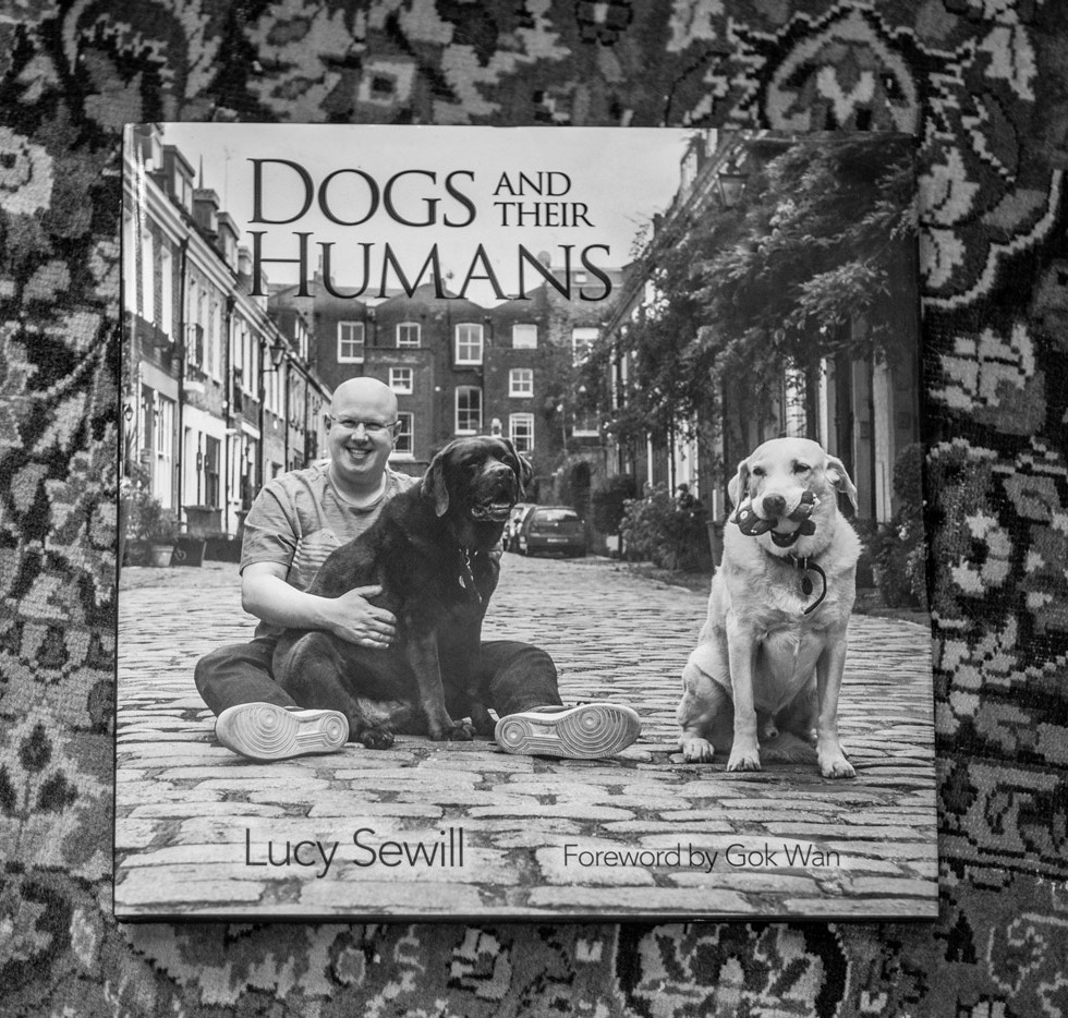 DOGS AND THEIR HUMANS BOOK