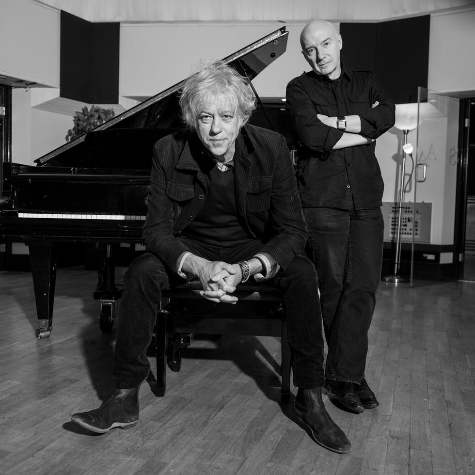 Bob Geldof and Midgure