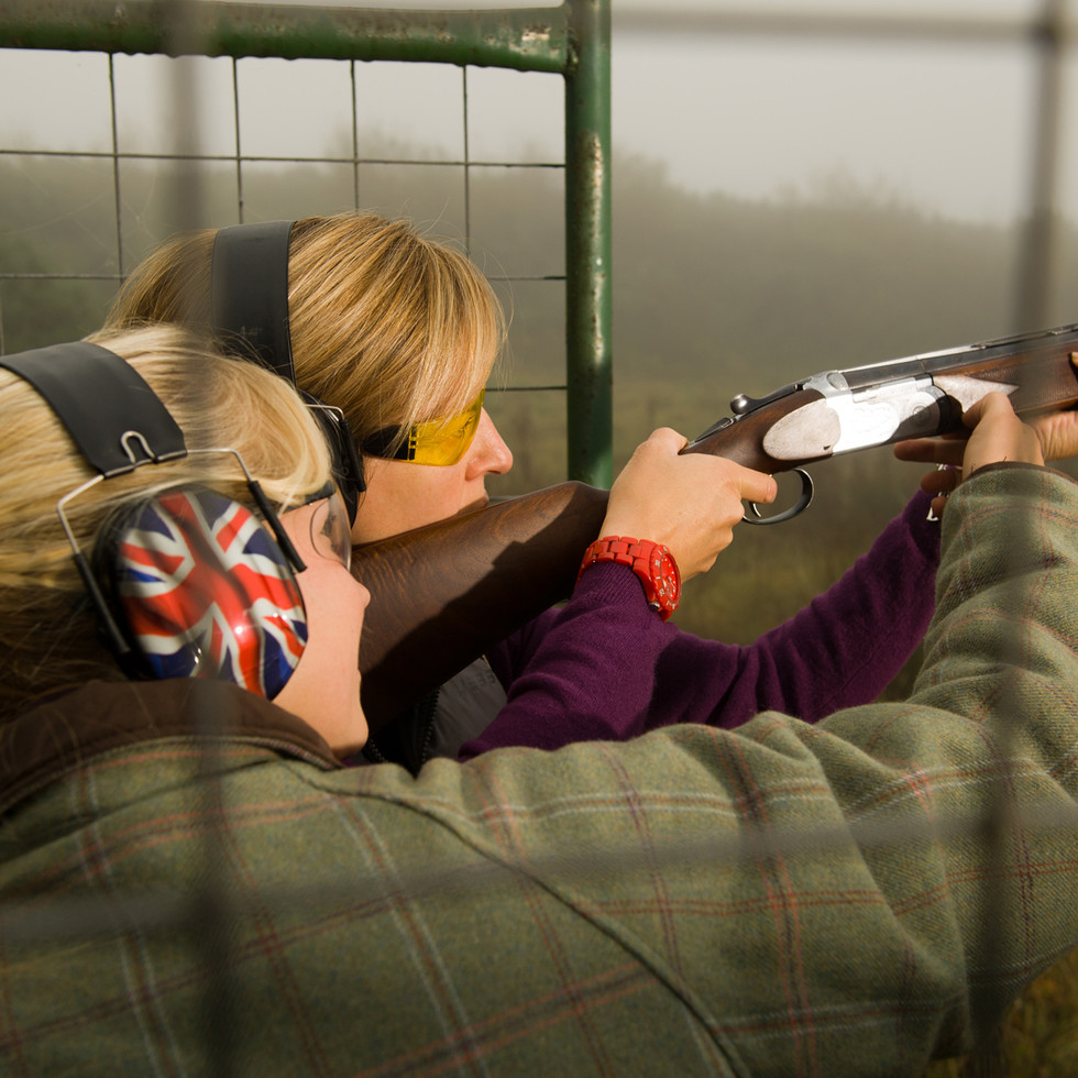 Lucy Sewill Olympic Shooting