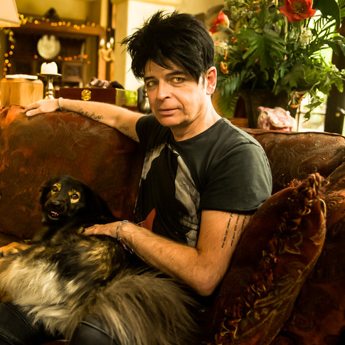 Gary Numan by Lucy Sewill