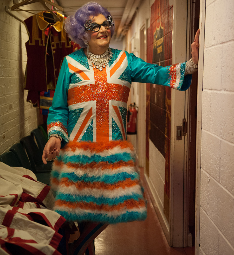 Dame Edna by Lucy Sewill