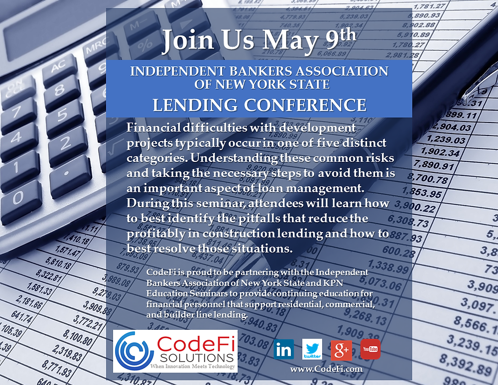 Independent Bankers Assoc. Lending Conference May 9