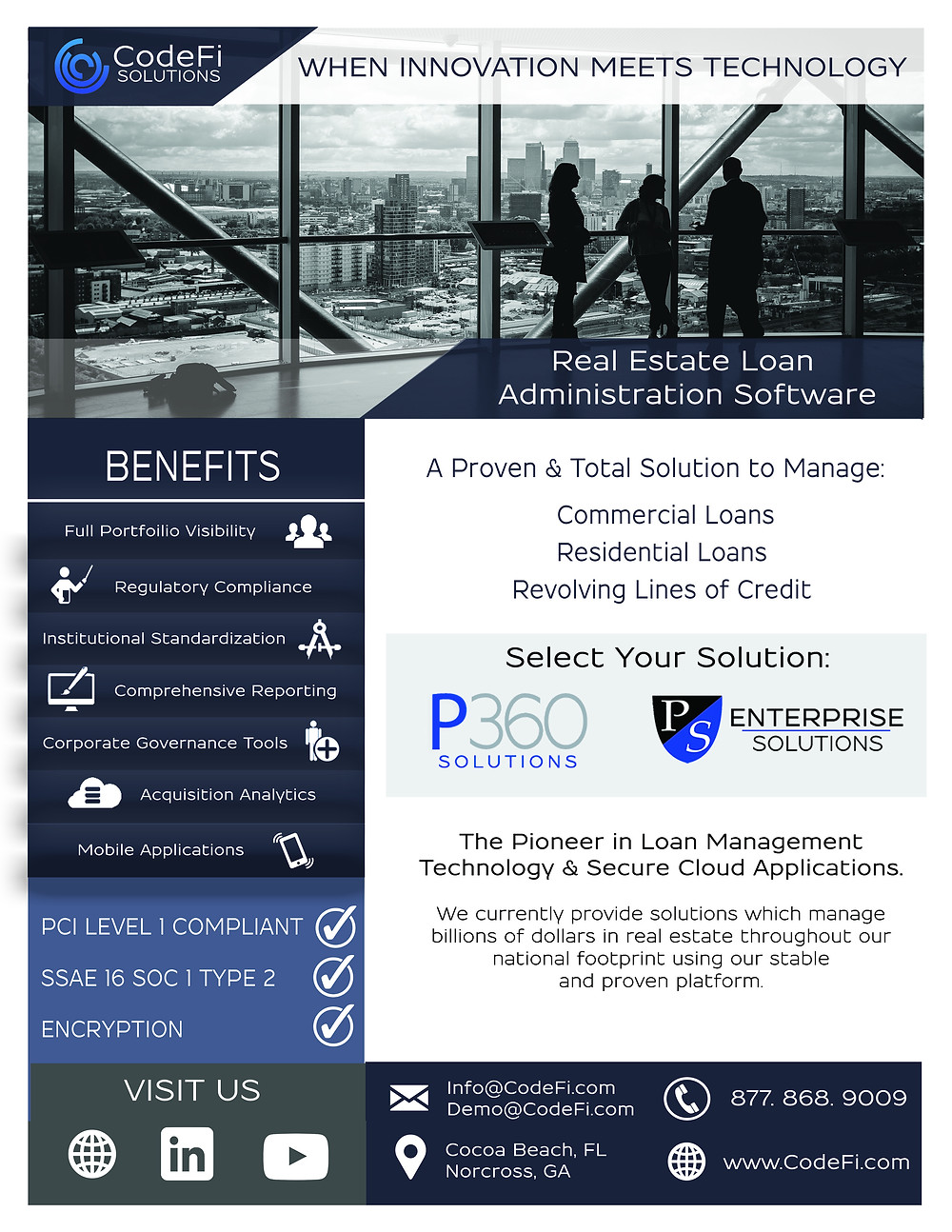 Real Estate Loan Administration Software Solutions Flyer