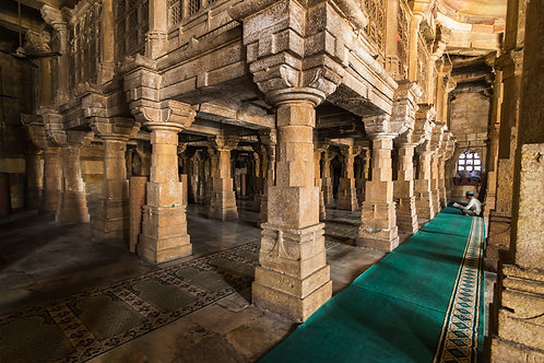 Prayer Room - Jama Masjid