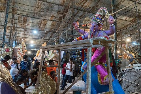 Parel Ganesh Workshop