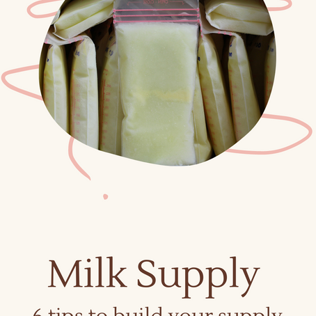 Building Milk Supply