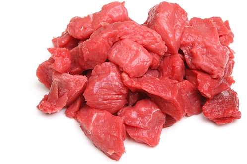 Diced / cubed Norfolk beef 400g