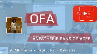 Anesthésie Sans Opiacés ! L'EPU est en ligne