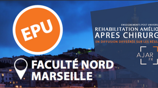 EPU sur la réhabilitation améliorée après chirurgie le 23 novembre à la faculté Nord de Marseille