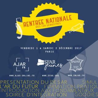 Rentrée Nationale des 1er Semestres 2017 !