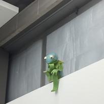 Rodins' Kermit