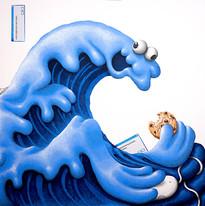 Hokusai's Monster