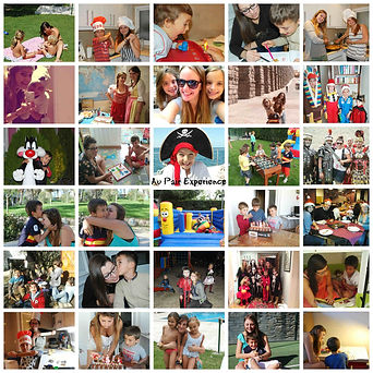 Experiencia Au Pair Collage