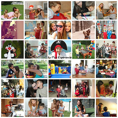 Programa Au Pair collage