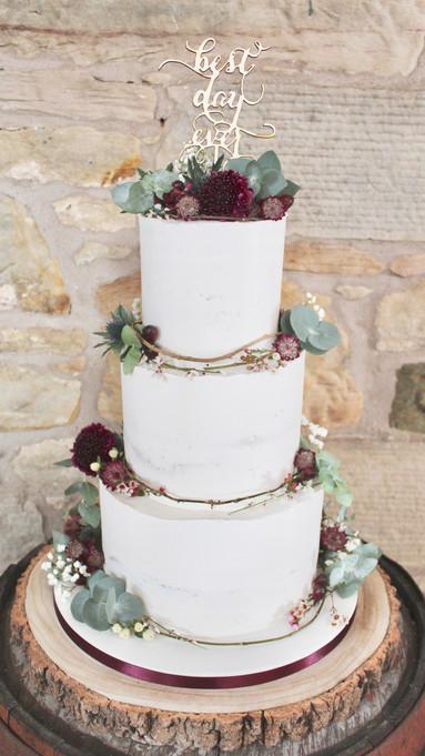 Chemily's Cakes Wedding Cake