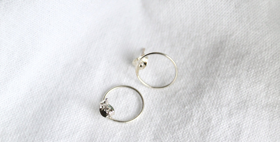 """The """"Harry"""" Halo    Sterling Silver"""