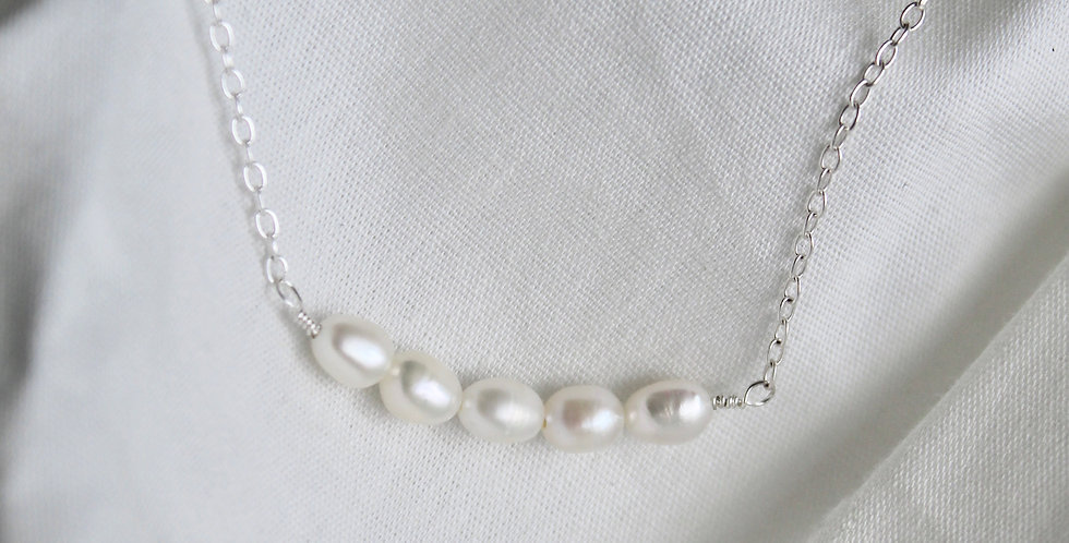 The Pearl Pendant || Sterling Silver