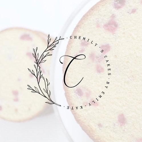 Chemily's Cakes' White Chocolate & Raspberry Cake Recipe