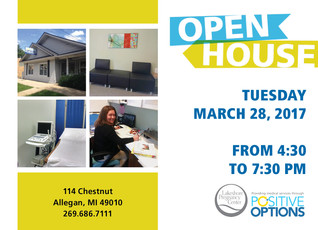 ALLEGAN CENTER OPEN HOUSE