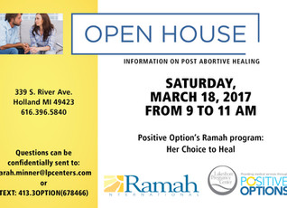POST ABORTIVE HEALING OPEN HOUSE