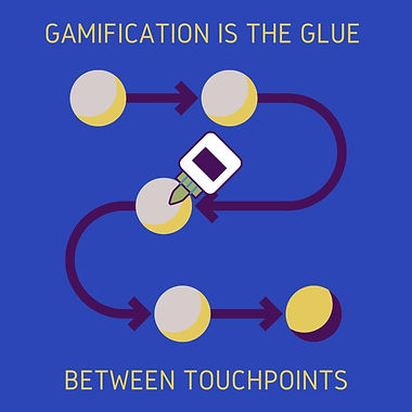 Gamification is the glue