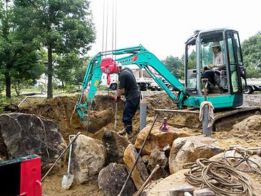 石積み作業状況2
