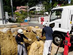 石積み作業状況1