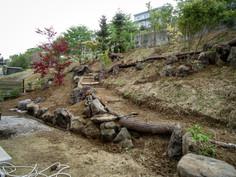 石積み・山道・植栽 作業状況
