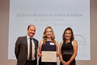 SensorHut's co-founder awarded L'Oréal-UNESCO for Women in Science 2016 Fellowship