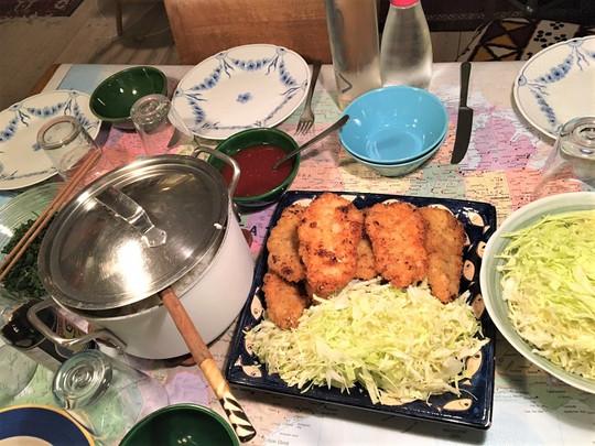 日本食を作りました