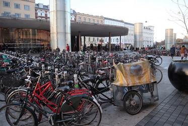 コペンハーゲンの自転車