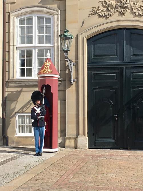 アマリエンボー宮殿の兵隊さん