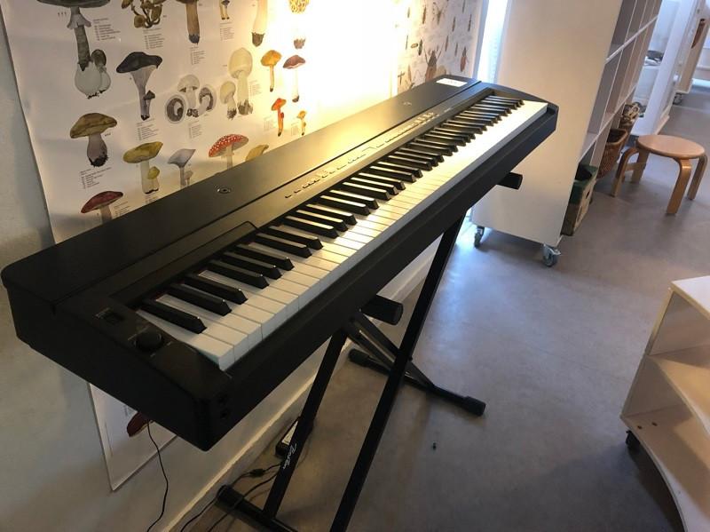 演奏会をした時のピアノ
