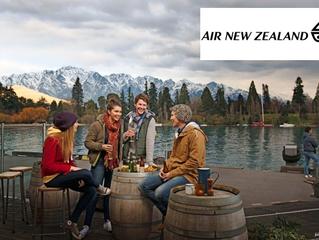 ニュージーランドまでの航空券セールのお知らせ