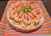 ひな祭りの日で作ったちらし寿司