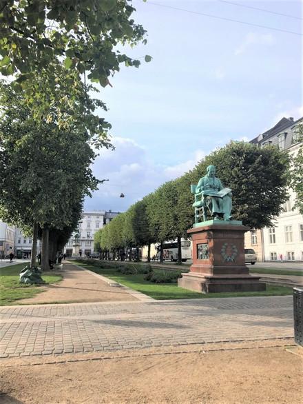 コペンハーゲンにある像
