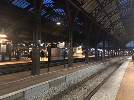 駅のホーム…ノアポート?