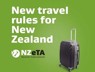 ニュージーランド観光ビザにつきまして