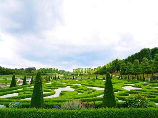 フレデリスクボー城の庭園