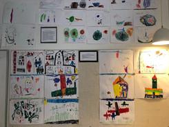子供たちが考える学校の絵