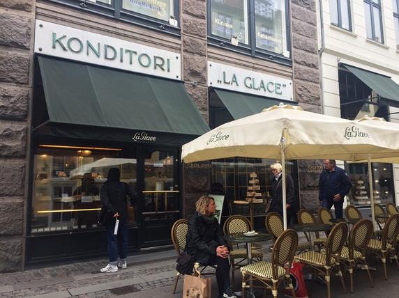 デンマーク最古のケーキ屋さん
