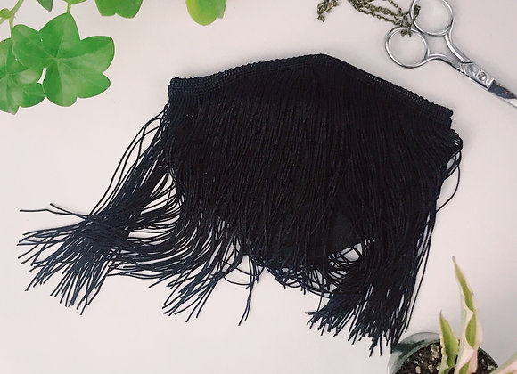 Black Tassel Mask