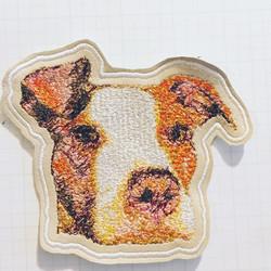 Custom Dog portrait