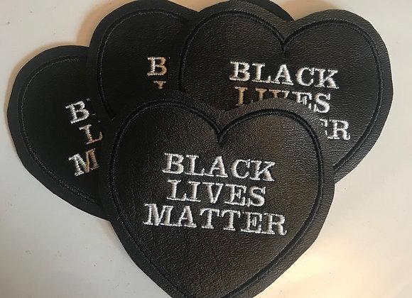 Black Lives Matter- White Letters