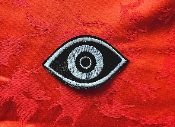 Evil Eye Black and White Patch