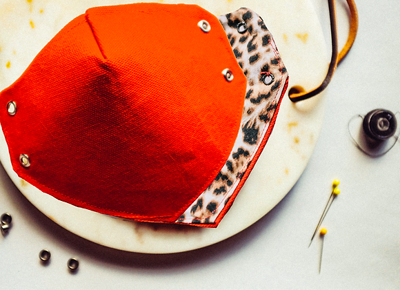 Red Cheetah Mask