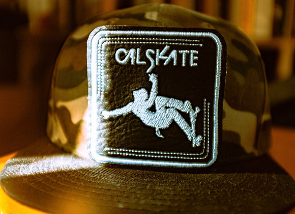 Cal Skate Square Patch