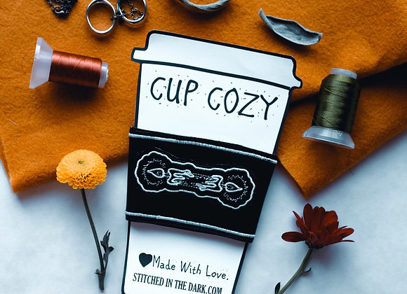 Cup Cozy In Black