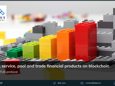 Issue, service, pool and trade financial products on blockchain with the ACTUS Protocol