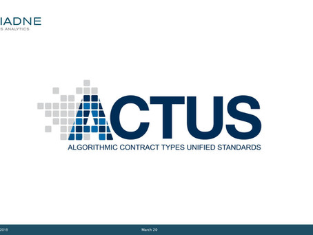 Leveraging ACTUS as computational kernel for core banking and financial reporting solutions